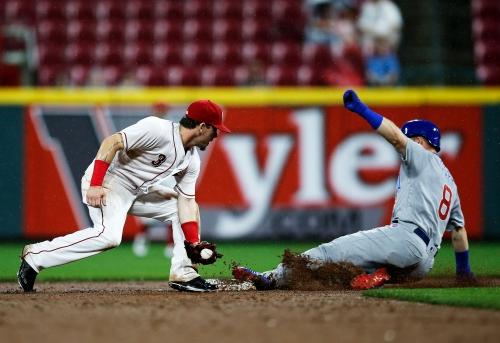 Billy Hamilton draws bases-loaded walk-off walk, Cincinnati Reds top Cubs in 11 innings
