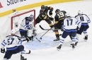 Vegas Golden Knights' aggressive forecheck continues to fuel their success