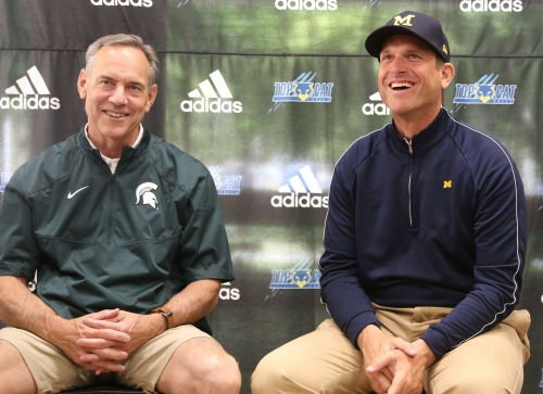 Michigan or Michigan State football: Which ranks better over last 25 years?