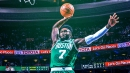 Celtics' Jaylen Brown drops the hammer on LeBron James: 'He'll have to earn this one'