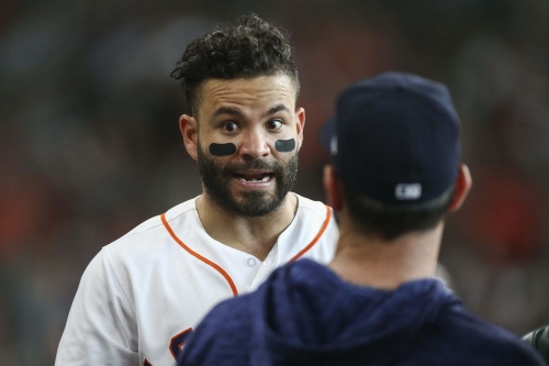 Astros Clubs Quiet Against Kluber. Comeback Fails. Indians over Stros, 5-4.