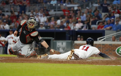 Newcomb keeps rolling, Braves offense wakes up in rout of Marlins