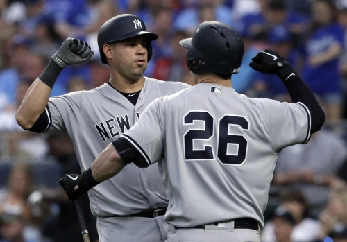 Gary Sanchez leads Yankees' offense in 8-3 win over Royals