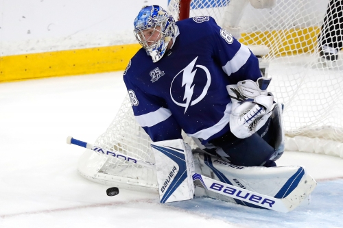 Andrei Vasillevskiy shines late, Tampa Bay Lightning hold off Washington Capitals