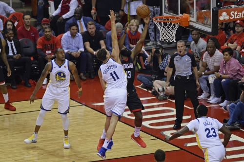 What happens if Warriors play with 'force' today but the Rockets still win?