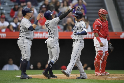 Angels' hitting woes continue against Rays in season-worst fifth consecutive loss