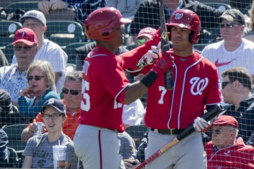 Nationals expected to call Juan Soto up to make MLB debut...