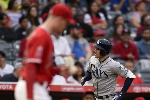 The Rays continue their assault on the Angels in what could have possibly been a close game