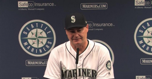 Mariners manager Scott Servais on James Paxton's complete game: 'We just jumped on his back tonight'