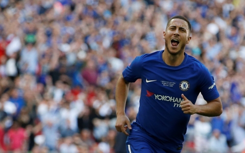 Eden Hazard responds to transfer rumours after Chelsea's FA Cup triumph