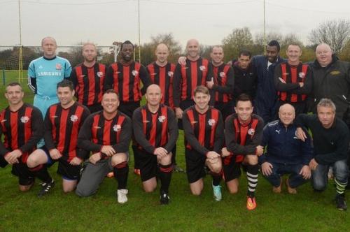 Meet the Sunday football team - with FOUR ex-Aston Villa and Birmingham City stars