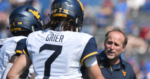 West Virginia coach Dana Holgorsen calls Will Grier 'best quarterback in the country'