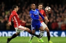 What was Manchester United FC target Willian's reaction to Chelsea FA Cup win?
