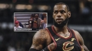 LeBron James appears to tease Donald Trump supporter in Game 3