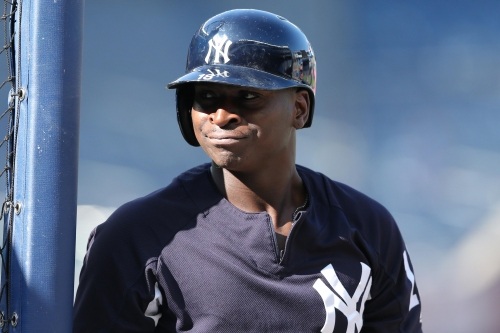 Amid a stunning slide, New York Yankees' Didi Gregorius stays on the bench