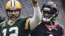 Packers superstar Aaron Rodgers offers up words of wisdom for Texans QB Deshaun Watson