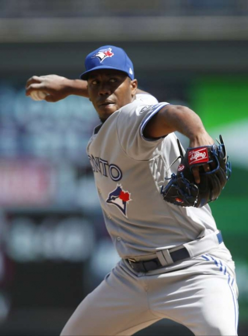 A's claim former outfielder turned pitcher off waivers from Blue Jays
