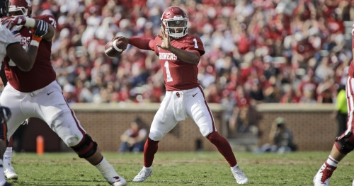 Sporting News projects Oklahoma will make College Football Playoff in 2018