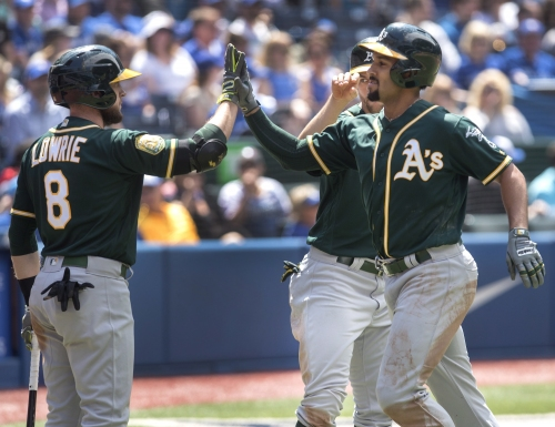 A's achieve something never done in Toronto with win over Blue Jays