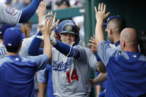 Dodgers sweep Nationals with 7-2 win in the series finale in the nation's capital...