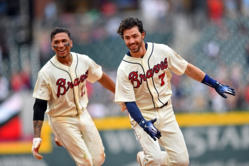 Braves rally in the ninth to defeat Marlins