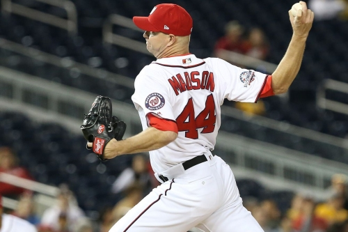 Nationals place Ryan Madson on 10-Day DL with chest strain...