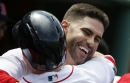 J.D. Martinez homers twice to tie Mookie Betts for MLB lead with 15, Boston Red Sox beat Orioles