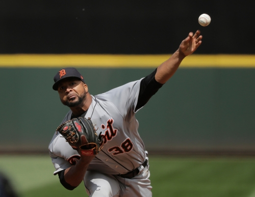 Detroit Tigers' Francisco Liriano loses no-hitter in 7th vs. Mariners