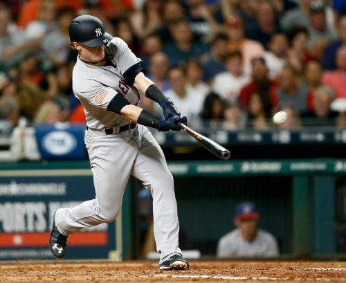 Yankees option Clint Frazier back down to Triple-A Scranton