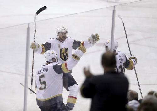 Ryan Reaves' goal lifts expansion Vegas Golden Knights to Stanley Cup Final