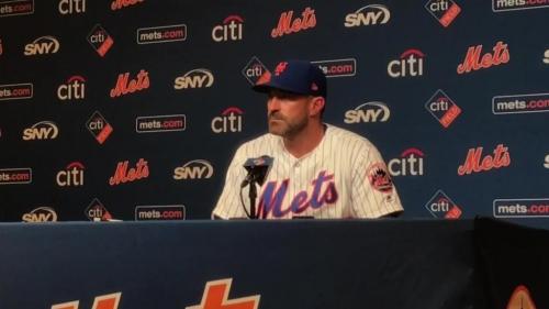 Mickey Callaway on the Mets' sweep