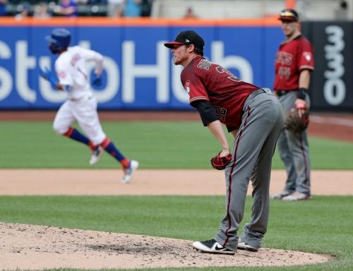 Diamondbacks lose again as Mets finish off sweep