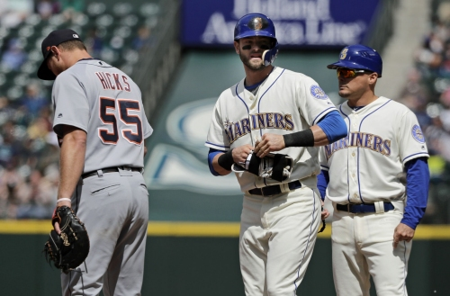 Mariners rally late, beat Tigers 3-2 in 11 on Segura's hit