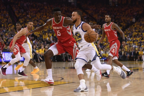 NBA playoffs: Warriors exert third-quarter dominance in Game 3 win over Rockets