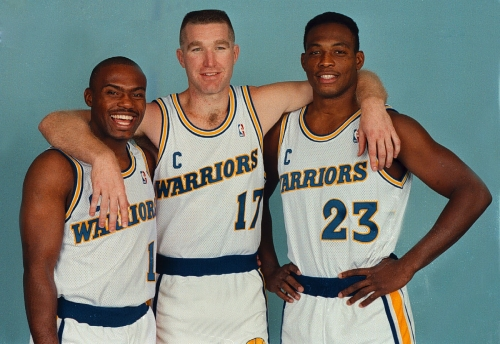 Warriors get the band back together; special trio on hand for Game 3