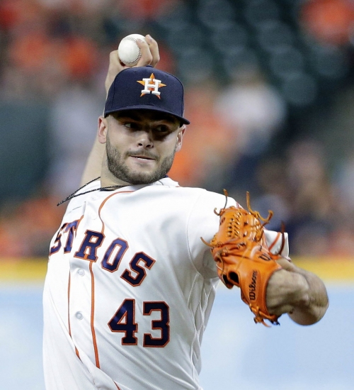 Lance McCullers out-pitches Carlos Carrasco as Cleveland Indians fall to Houston, 3-1
