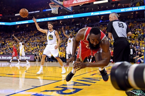 James Harden agrees with coach Mike D'Antoni's assessment: Rockets 'played soft' in Game 3