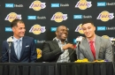 Rob Pelinka: Lakers Drafted Kyle Kuzma After Watching Him Shine On Various 'Stages'