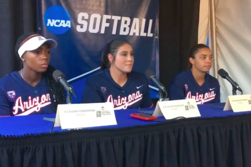 WATCH: Arizona players on the win vs. Mississippi State and Super Regionals