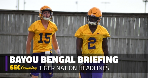 Which QB should LSU fans want Tigers to start in 2018?