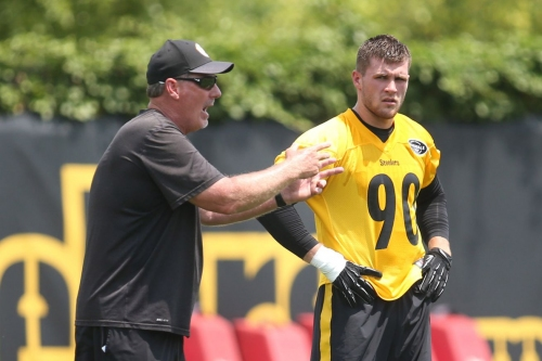 The Steelers, and Keith Butler, are emphasizing stopping the run from Day 1