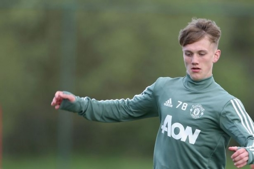 Manchester United player Ethan Galbraith signs new contract
