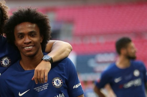 What Willian said after Chelsea's FA Cup win over Manchester United