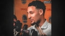 Klay Thompson hopes Riley didn't see Stephen Curry swearing in Game 3 vs. Rockets