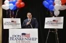 Ex-coal exec chases US Senate seat despite GOP primary loss