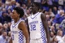 Wenyen Gabriel working out for the Kings