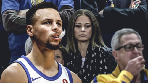 Stephen Curry's mom did not like his son's use of profane language during Game 3