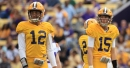 With Joe Burrow on board, which LSU QB is most likely to leave?