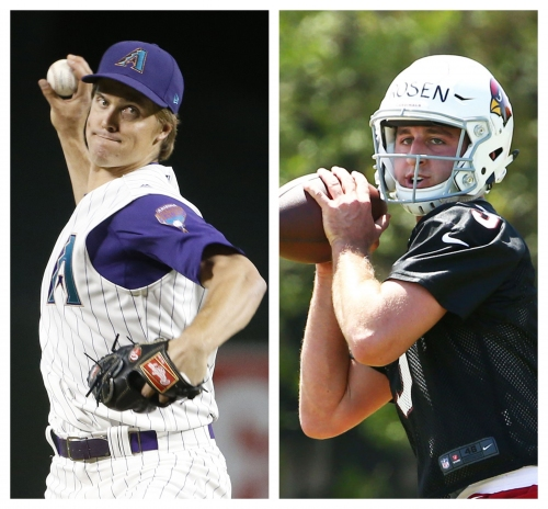 Tennis served Zack Greinke, Josh Rosen well in quest to be professional athletes