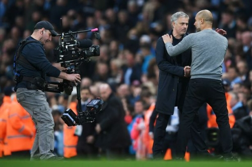 Pep Guardiola has given Manchester United manager Jose Mourinho a lesson in humility as well as football